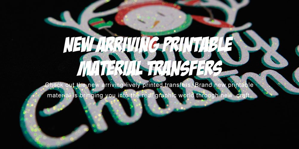 New Craft Prints New Transfers