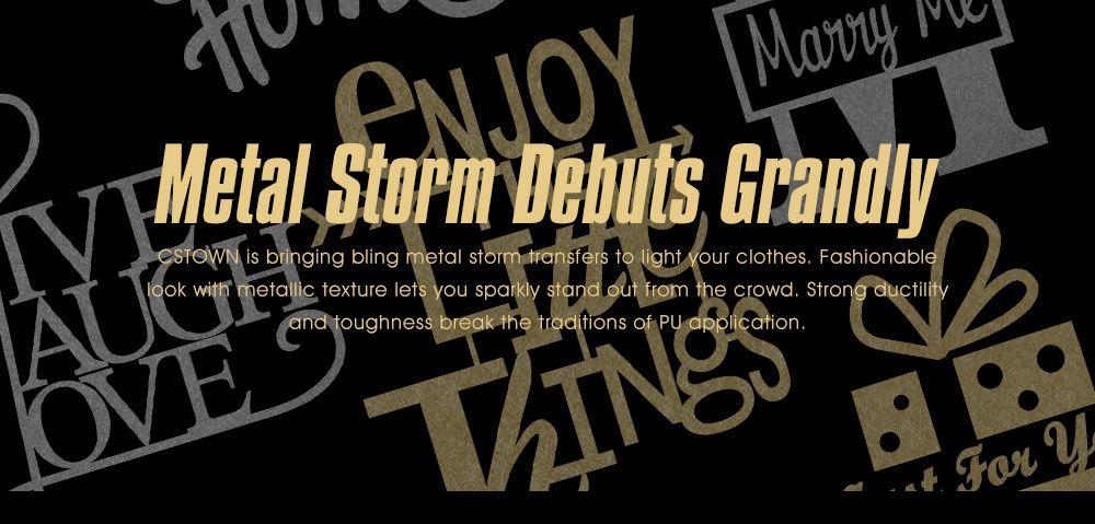 Metal Storm Strikes Grandly