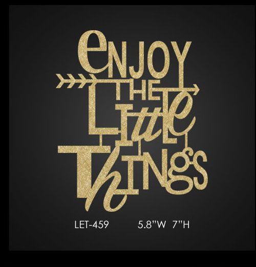 bling-letter-enjoy-the-little-things