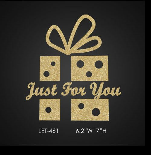 bling-present-box-with-letter-just-for-you
