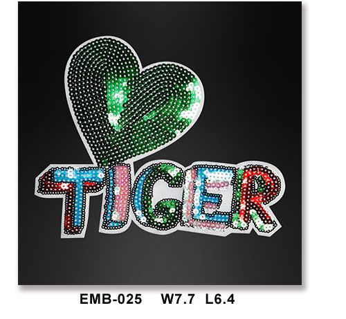 tiger-fashion-sequined