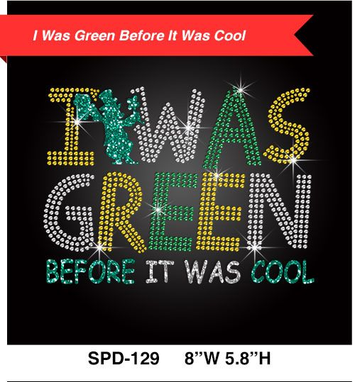 bulk-letters-glitter-i-was-green