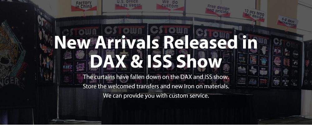 New Arrivals Released in DAX & ISS Show