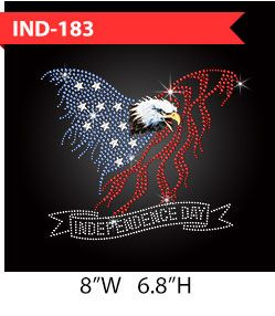 flying-eagle-independence-day