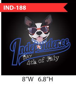 independence-day-cute-dog-patter