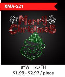 merry-christmas-metal-rhinestud
