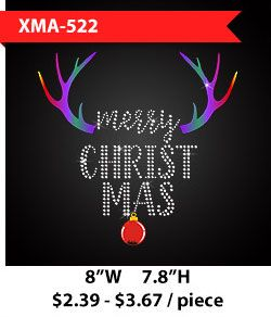 christmas-themed-caribou-horn