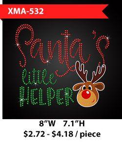 custom-glitter-reindeer-metal-rhinestud-christmas