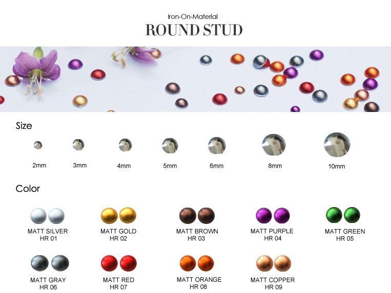 Round Stud