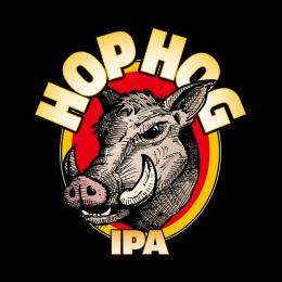 Hophog IPA Wild Boar Printed Vinyl Iron on Transfer Decals