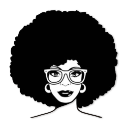 Afro Girl in Glasses Heat Transfer Vinyl