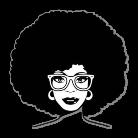 Afro Girl in Glasses Heat Transfer Vinyl