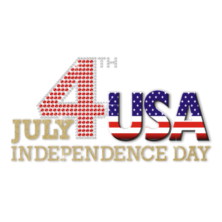 July 4th USA Independence Day Heat Transfer