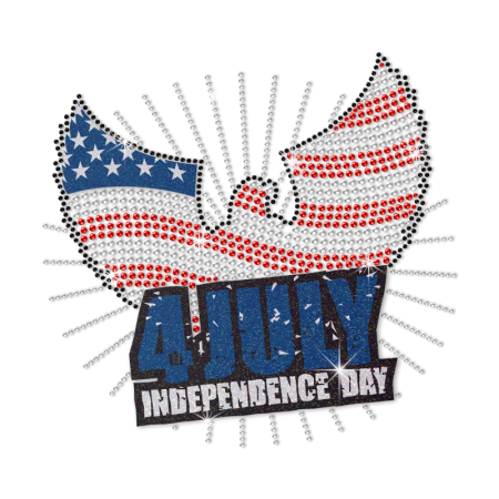 Independence Day Eagle Design Heat Transfer