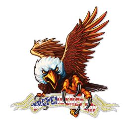 Independence Day Eagle Design Heat Transfer Design