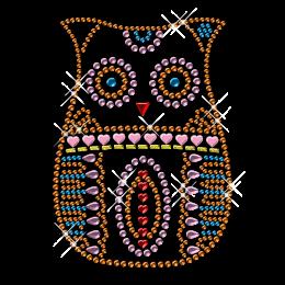 Nailhead Owl Iron on Transfer Pattern