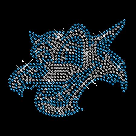 Strass Dog Iron on Pattern Transfer