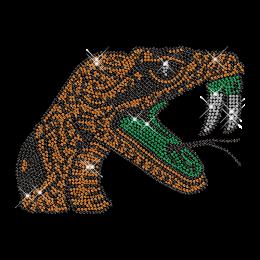 Python Pattern Strass Hotfix Motif for Clothing