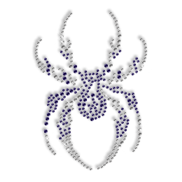 Iron on Spider Strass Transfer for T Shirt