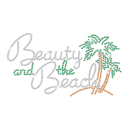 Trendy Beauty & Beach Iron-on Rhinestone Transfer