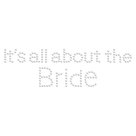 It's all about the Bride Rhinestone Iron ons