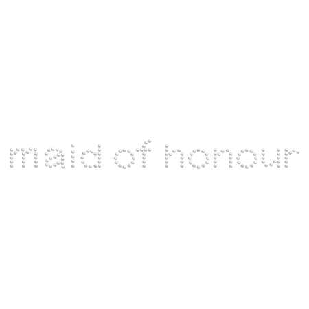 Hotfix Maid of Honor Rhinestone Motif