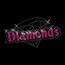 Dazzling Diamond Hotfix Rhinestone Tee Shirt Transfer
