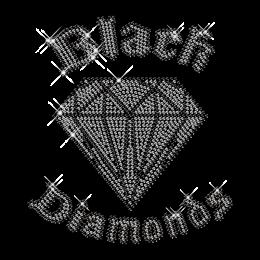 Shining Diamond Motif Iron on Rhinestone Design