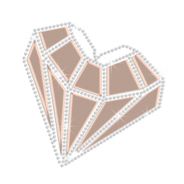 Custom Sparkling Diamond Holofoil Rhinestone Transfer Decal