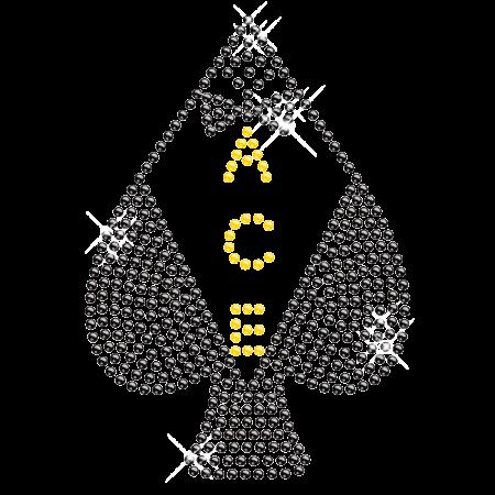 Rhinestone Casino Ace Hotfix Design