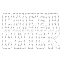 Clear Crystal Cheer Chick Hotfix Rhinestone Transfer