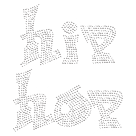 Crystal Bling Hotfix Hip Pop Strass Motif Design