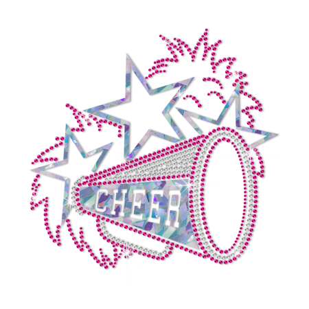 ISS Holofoil Cheer Celebration Nailhead Pattern