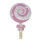 Shining Lollypop Rhinestone Hot Fix Design