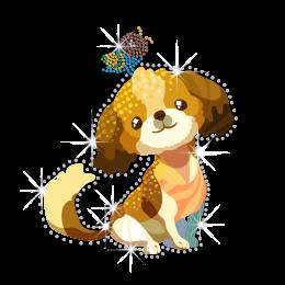 Cute Little Puppy Dog Heat Transfer Combo