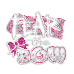 Vegas Show Fear the Bow Nailhead Iron-on Transfer Design