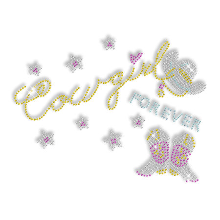 Bling Cowgirl Element Iron on Transfer Wholesale