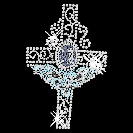 Fantasy Cross Hotfix Crystal Motif Design