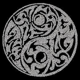 Hot-fix Crystal Rhinestone Ornament