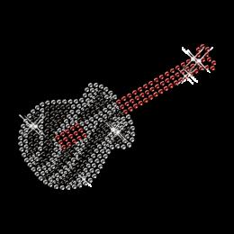 Diamante Guitar Image Tranfer Iron ons