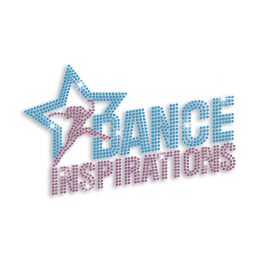 Hot Dance Inspirations with Star Custom Rhinestone  Hot-fix Transfer for T-shirts