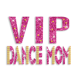 Beautiful VIP Dance Mom Rhinestone Hot-fix Motif Custom for T-shirt