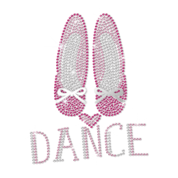 ISS Dance Shoes Nailhead Pattern