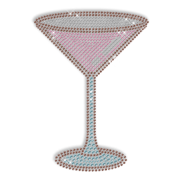 Sparkling Rhinestone and Rhinestud Drinks Transfers