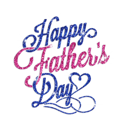 Glittering Happy Father\'s Day Iron on Rhinestone Transfer Decal