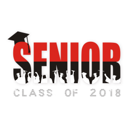 Senior Class Graduates Hot-fix Crystal Pattern