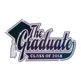 Wholesale The Graduate of 2018 Diamante Motif