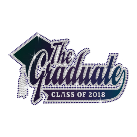 Wholesale The Graduate of 2018 Diamante Motif