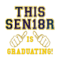 Bling This Senior Is Graduating Hotfix Decal