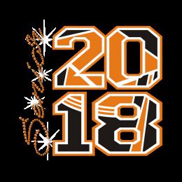 Shining Senior 2018 Rhinestone Motif